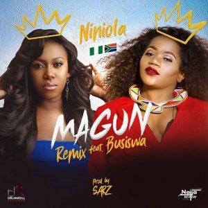 Niniola – Magun (Remix) Ft. Busiswa