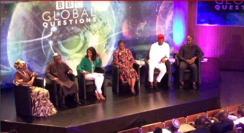 bbc global question in lagos debate