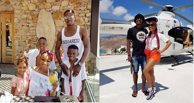 Footballer, Odion Ighalo spends quality family time as they go on vacation in Greece (Photos)