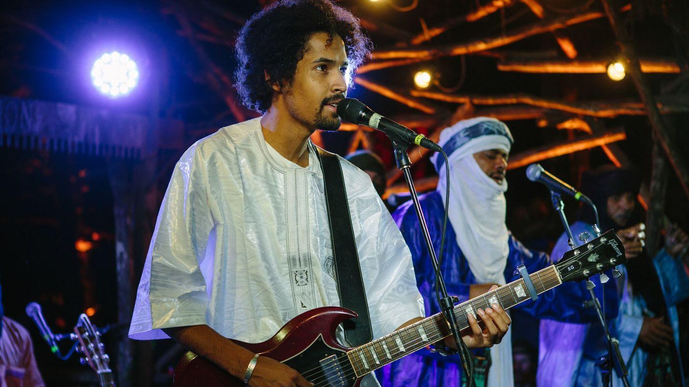 Tinariwen performs live at Pickathon.