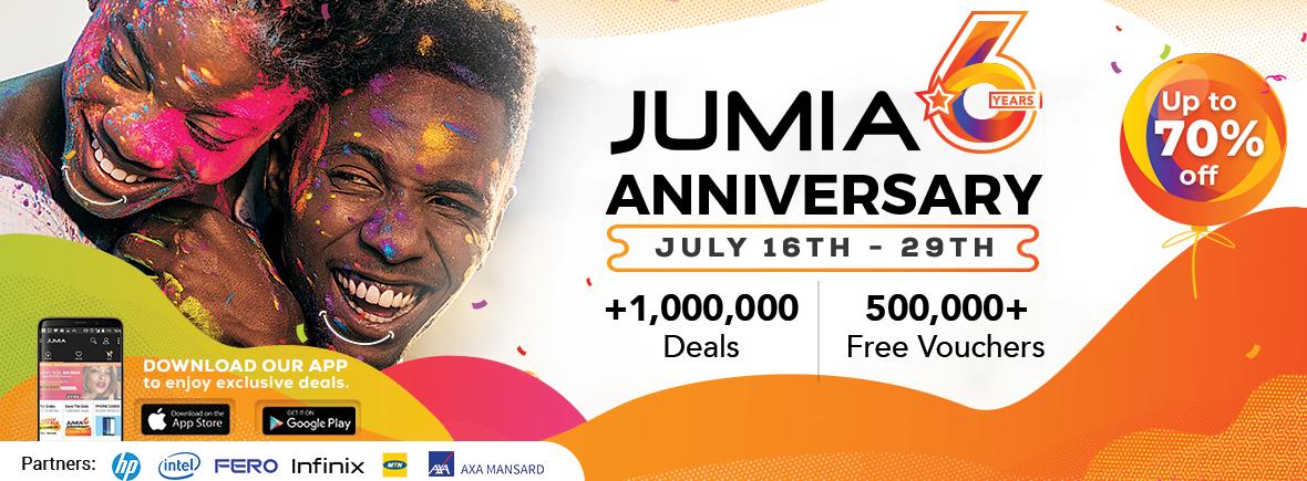 Jumia During Jumia's 6th Anniversary