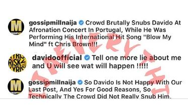 This image has an empty alt attribute; its file name is Davido's-Threat-Sends-Gossipmill-Blogger-Into-Fear.jpg