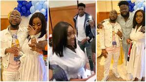 This image has an empty alt attribute; its file name is Photos-from-naming-ceremony-of-Davido-And-Chioma's-son-2.jpg